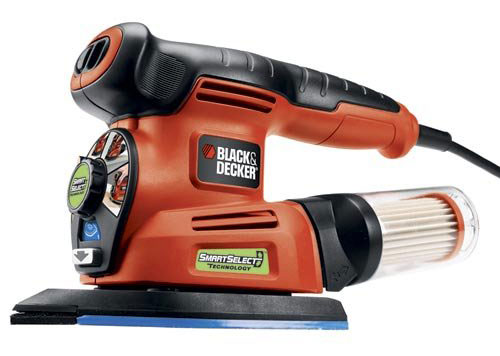 7. Black & Decker MS2000 4-in-1 Smart Select Multi Sander